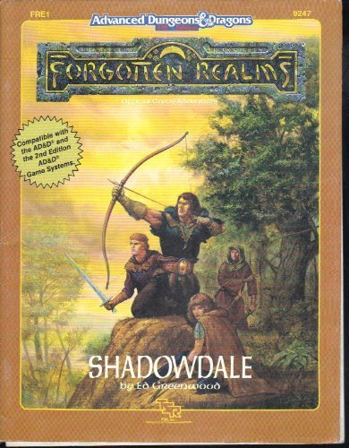 Shadowdale (Advanced Dungeons and Dragons Forgotten Realms)