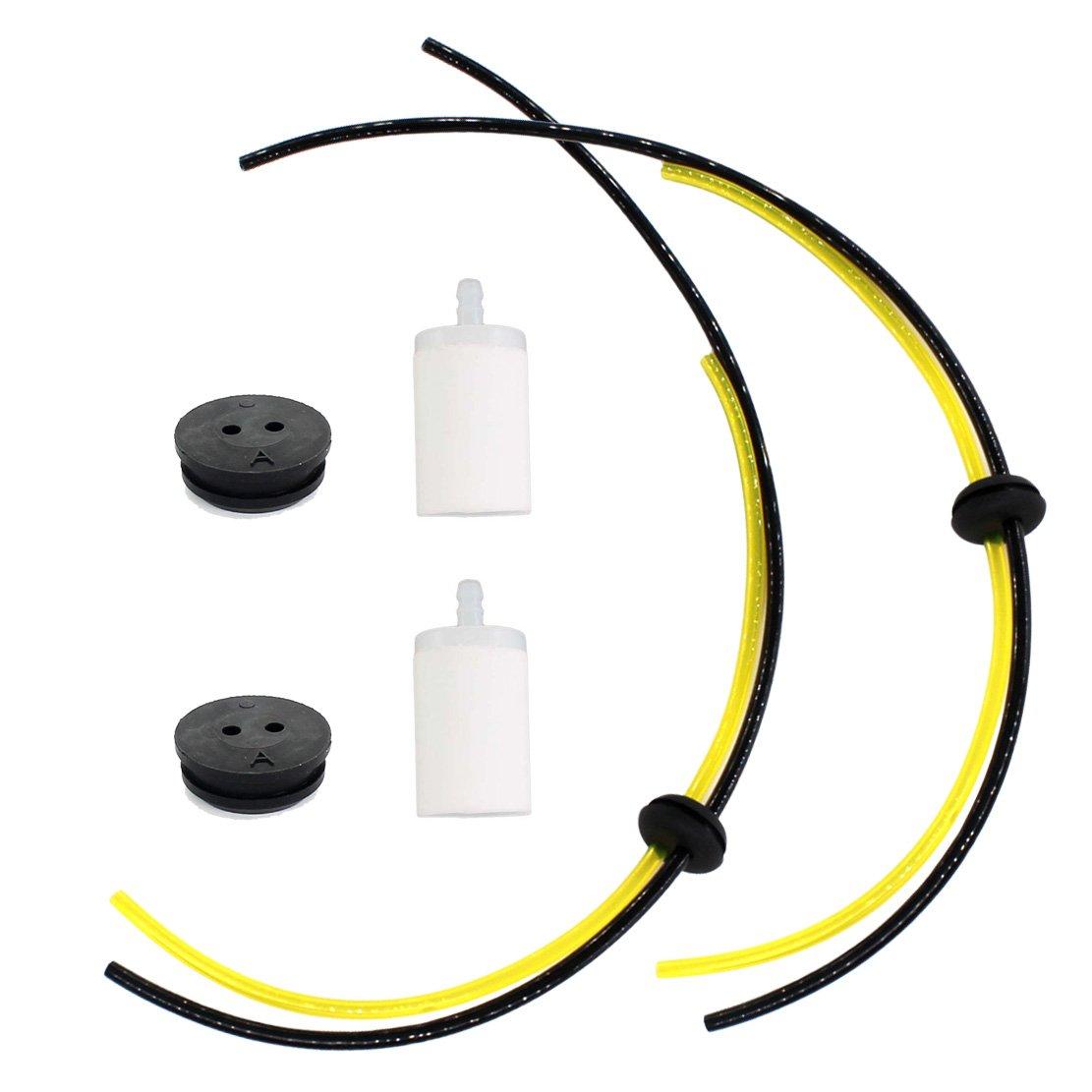 Amazon.com: USPEEDA Fuel Line Filter Kit For Stihl FS83 FC83 ...