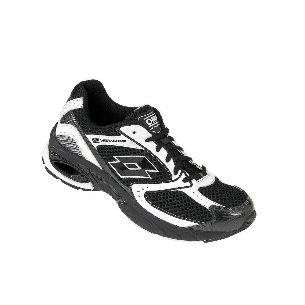 Amazon.com: OMP OMPORC340407647 Zapatillas Lotto Negro/Blanco Talla 47: Automotive