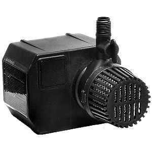 Beckett Corporation Beckett G325AG 325 GPH Pond Pump, 16-Feet Cord, Black