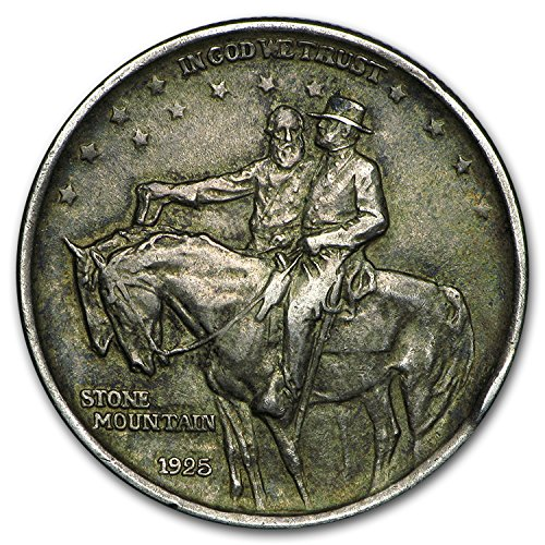 1925-stone-mountain-memorial-commem-half-avg-circ-silver-very-good