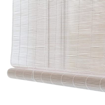 WENZHE Roll Up Window Blind Roller Blind Bamboo Curtain