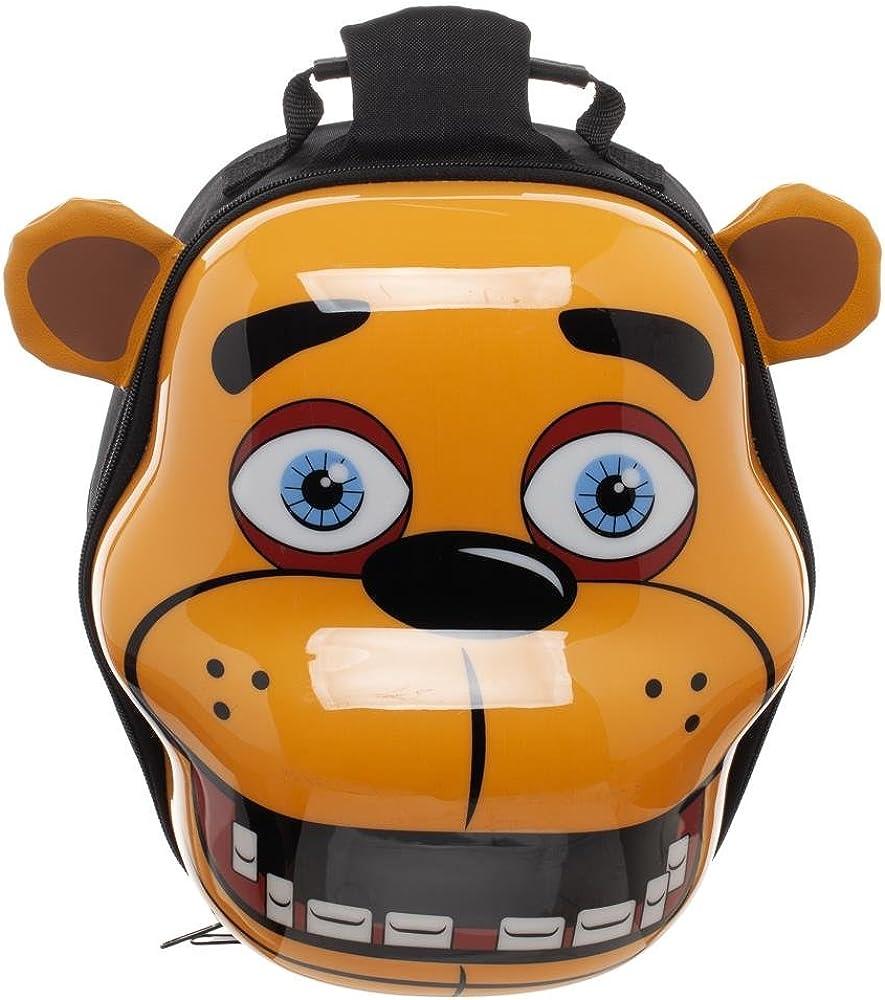 /Checker Accessory Innovations Porta pranzo Fnaf snack New Five Nights at Freddys Bonnie Chica Foxie posteriore/