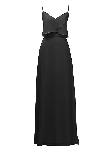 Alicepub -  Vestito  - linea ad a - Donna nero 50