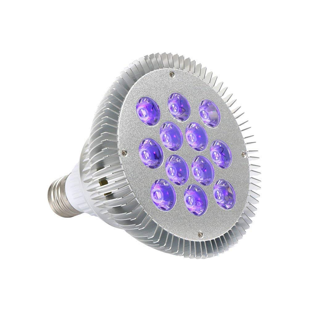 YeeSite Black Lights with 36-Watts UV LED Bulb, Par38 Spotlight E27 Medium Base
