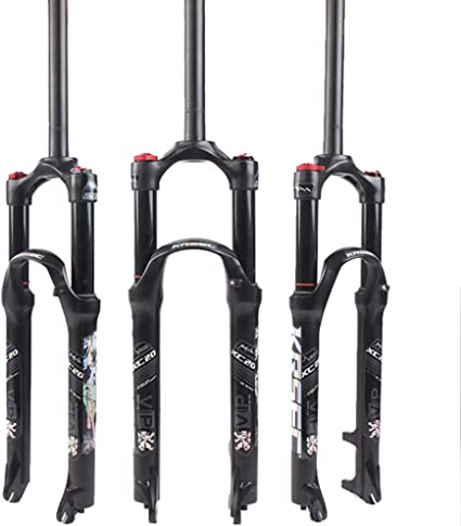 "120mm Air Fork 26 27.5 29/"" Suspension Fork Quick Release MTB Bike Straight Fork"