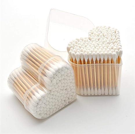ASTARC Bastoncillos de algodón,Bastoncillos para Oídos de Bambú ...