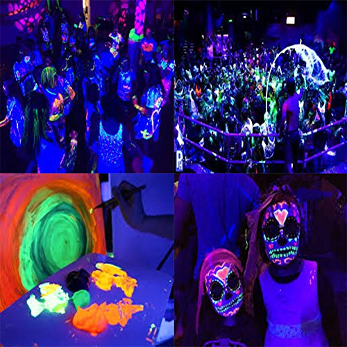 DeepDream Black Light UV Led Strip 16.4Ft/5M 24W Flexible Waterproof IP65 with 12V 2A Power Supply by Deep Dream (Image #4)
