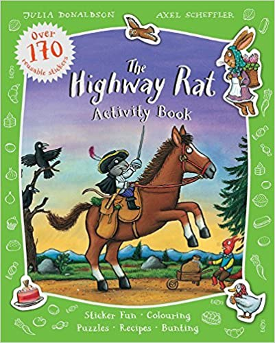 The Highway Rat Activity Book by Julia Donaldson (2015-05-07)