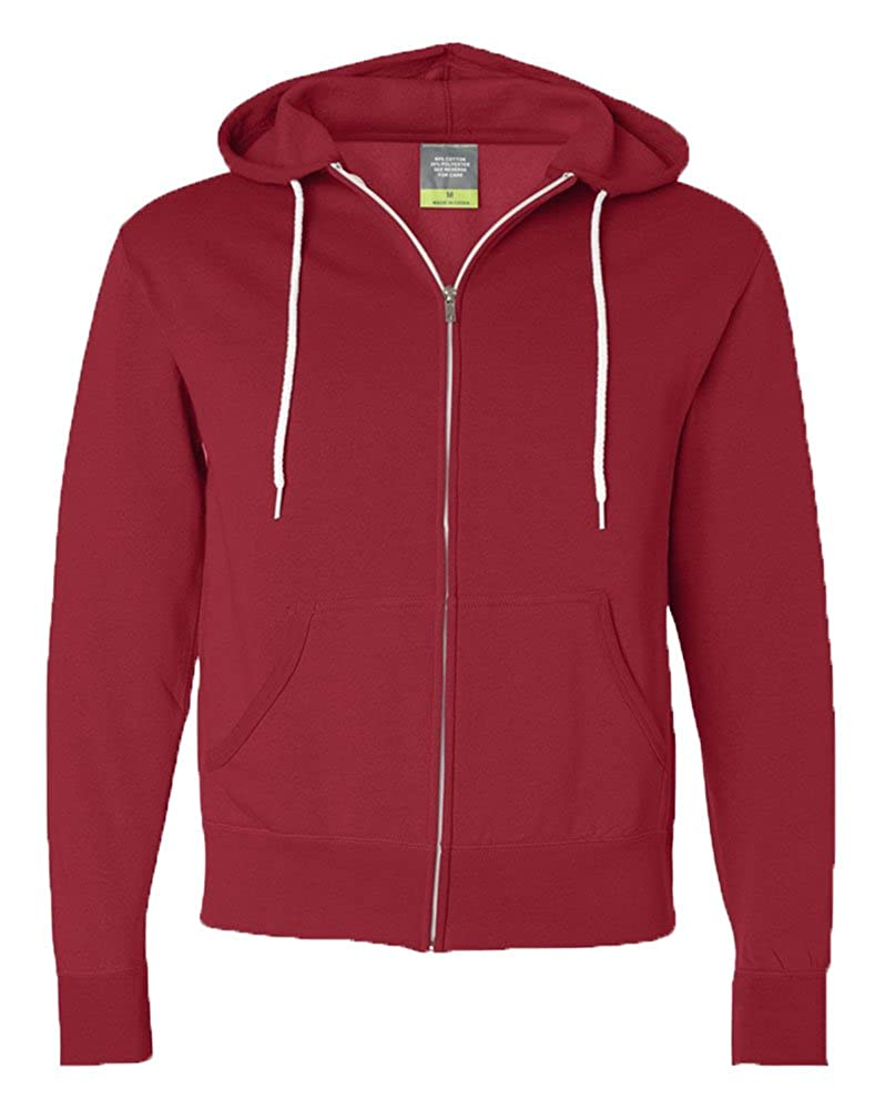 Independent Trading Co Unisex Full-Zip Hooded Sweatshirt AFX90UNZ