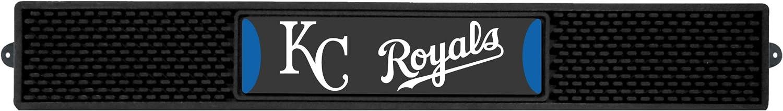 FANMATS 19325 MLB Team Color 3.25x24 Kansas City Royals Drink Mat