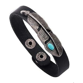 Armband Armbänder Surferarmband Herren Damen Peace Türkis Neu! Uhren & Schmuck