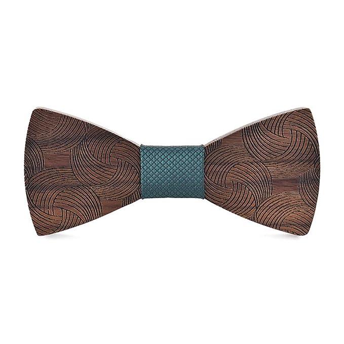 Pajarita de madera elegante y de moda Pajarita de madera para ...