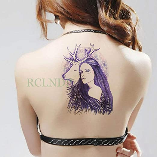 Etiqueta engomada del Tatuaje a Prueba de Agua Cabeza de Oveja ...