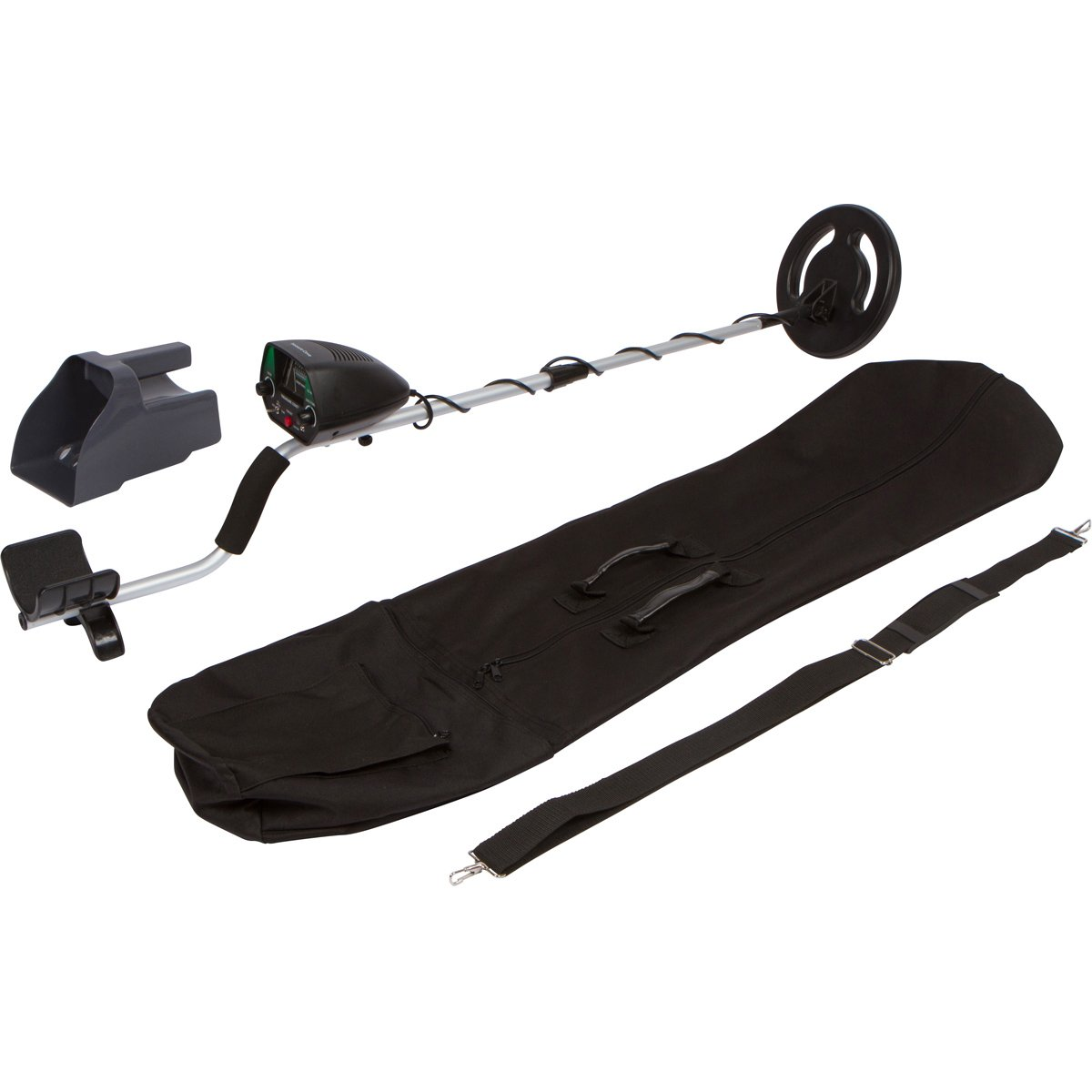 Treasure Cove TC-1023 Easy-To-Use Gold and Silver Metal Detector Kit with Bonus Sand Sifter Scoop