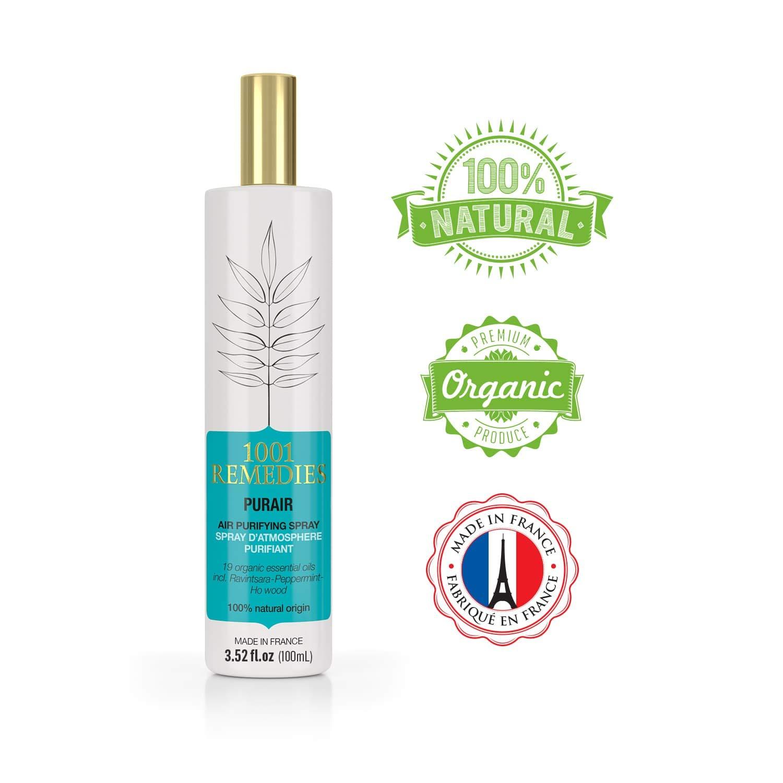 Amazon.com : 1001 Remedies Purair Essential Oil Spray - Deep Sleep Pillow  Spray with Lavender - Aromatherapy Mist & Linen Freshener Organic - 3.52  fl. oz : ...