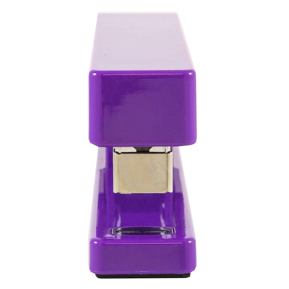 JAM PAPER Office Starter Kit - Purple - Stapler, Tape Dispenser, Staples, Paper Clips & Binder Clips - 5/Pack by JAM Paper (Image #6)