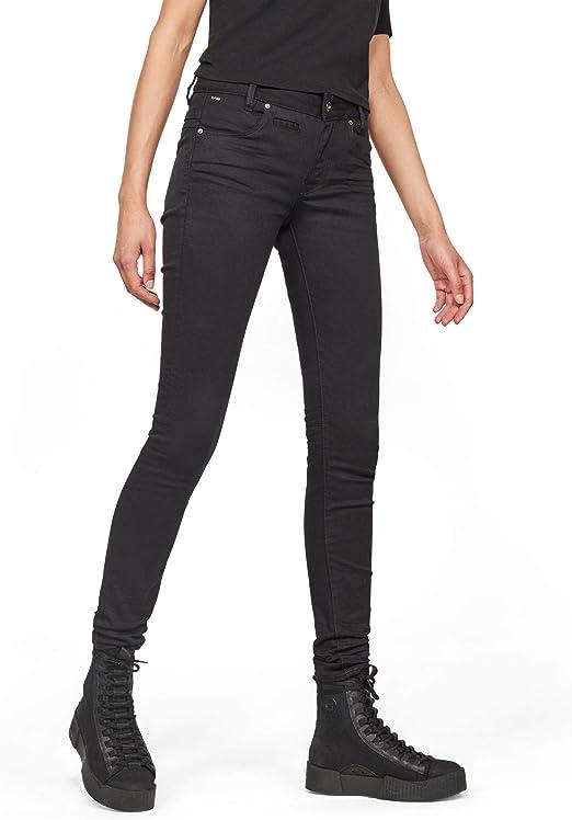 G-Star RAW(ジースターロゥ) D-Staq 5-Pocket Mid Skinny Jeans レディース ジーンズ スキニー