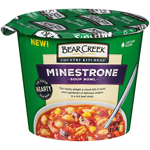 Bear Creek Hearty Soup Bowl, Minestrone, 1.9 Ounce (Pack of 6) (The Best Damn Chili)