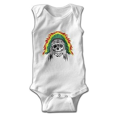 Amazon.com: Pullan Eudora Skull Indian Punk Rasta - Body sin ...