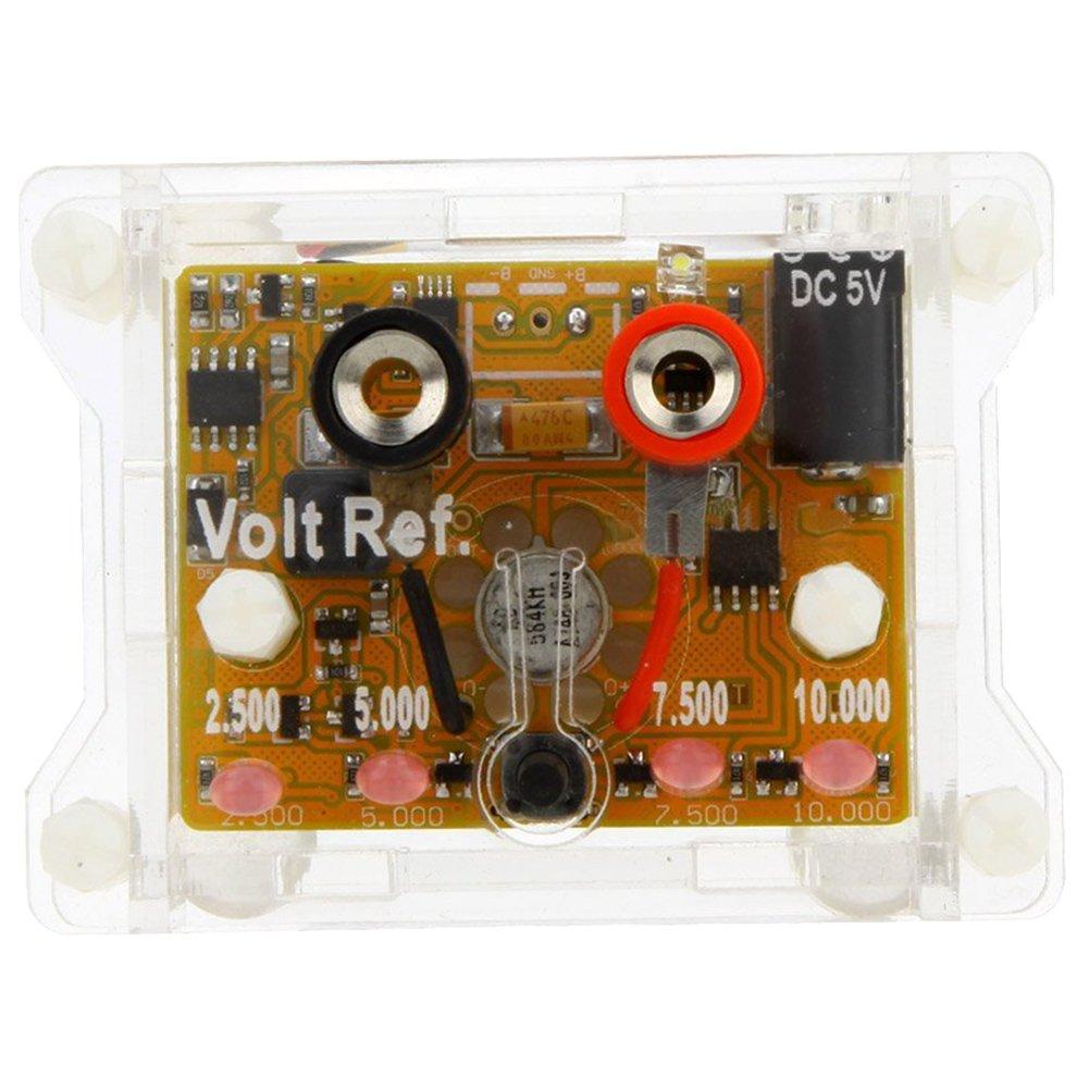 7.5V 5V 10V TOOGOO High M/ódulo de Referencia de Voltaje de Precisi/ón Ad584Kh 4 Canales 2.5V