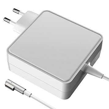 Adaptador de Corriente 60 Watte MagSafe 1 (L Forma) Cargador Macbook pro MagSafe de 60W Cargador Fuente de alimentación para Apple MacBook y MacBook ...