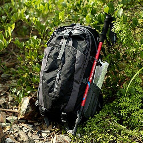 GUO - Wanderrucksäcke, Wandern Rucksack, Camping Rucksack / Reisen Rucksack / Trekking Rucksäcke / Casual Daypack Tasche für Outdoor Sport Wandern Trekking Camping Klettern Berg