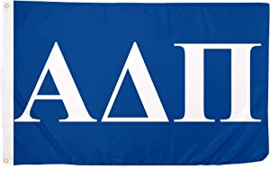 Alpha Delta Pi Letter Sorority Flag Greek Banner Large 3 feet x 5 feet Sign Decor ADPi