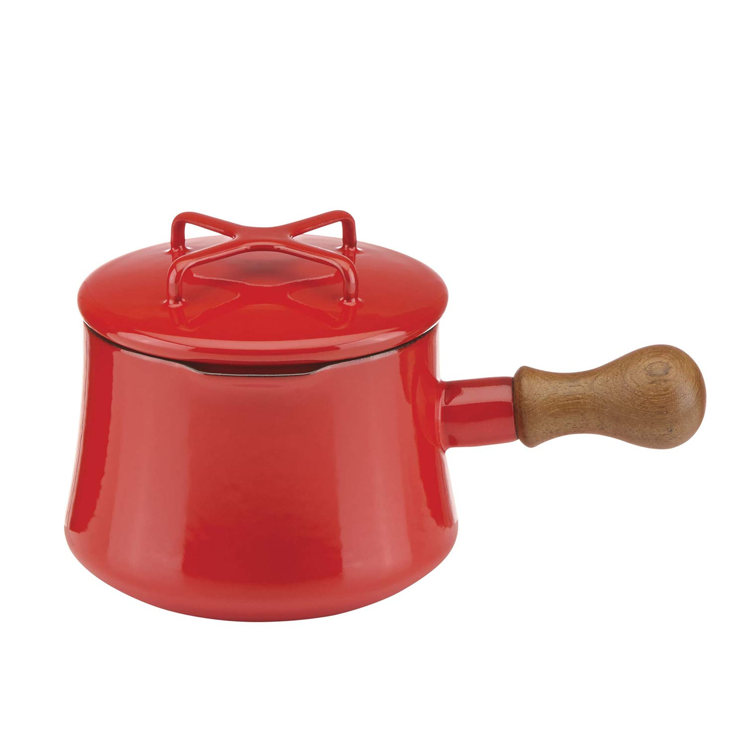 Dansk Kobenstyle Chili Red Cocoa Pot with Lid