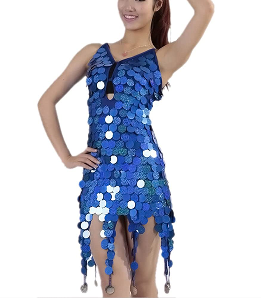 7567907b968a Amazon.com: 1920 Ballroom Flapper Fashion Dance Clothes Outfits Accessories  for Women Ladies: Clothing