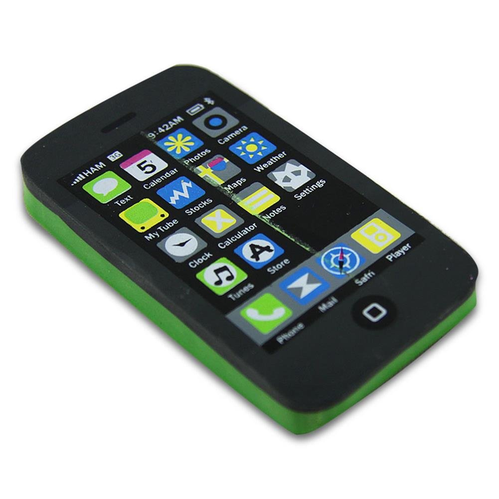 24 x Eraser eraser eraser Smartphone Phone Iphone Phone, 10,5 cm