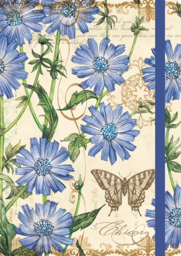 Perfect Timing Lang Blue Chicory Deluxe Journal (1330005)