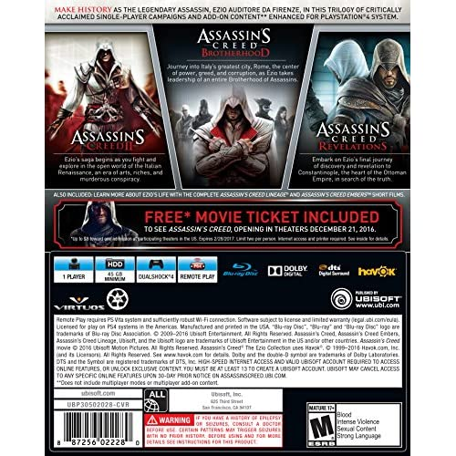 Assassin S Creed The Ezio Tiendamia Com