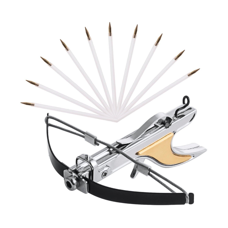 Amazon com: alasa Micro Archery Bow Hand Crossbow Medieval