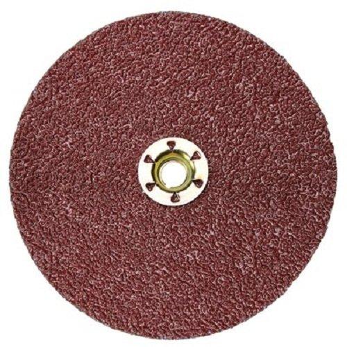 Shaped Disk Pack (3M Cubitron II Fibre Disc 982C TN Quick Change, Precision Shaped Ceramic Grain, Wet/Dry, 4-1/2