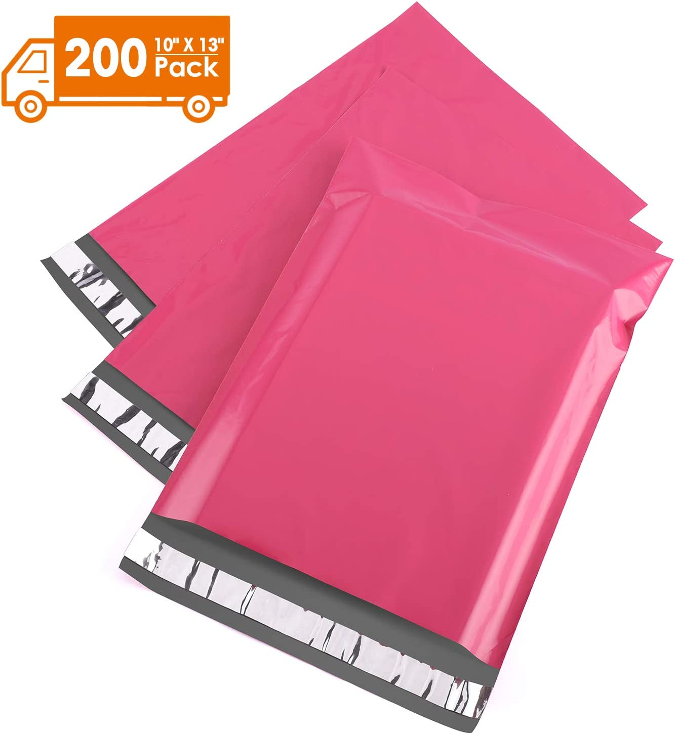 Metronic 10x13 Poly Mailers Purple Shipping Bags 100PC Envelopes Mailers with Self Adhesive Purple Poly Bags Waterproof and Tear-Proof Postal Bags : Office Products
