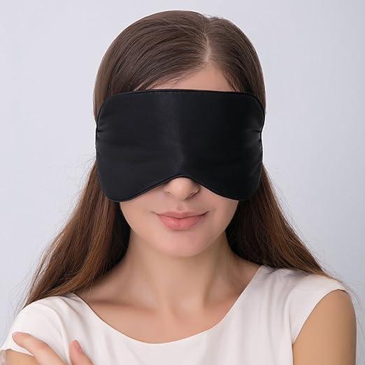 超级好用,柔软顺滑100%天然丝绸眼罩