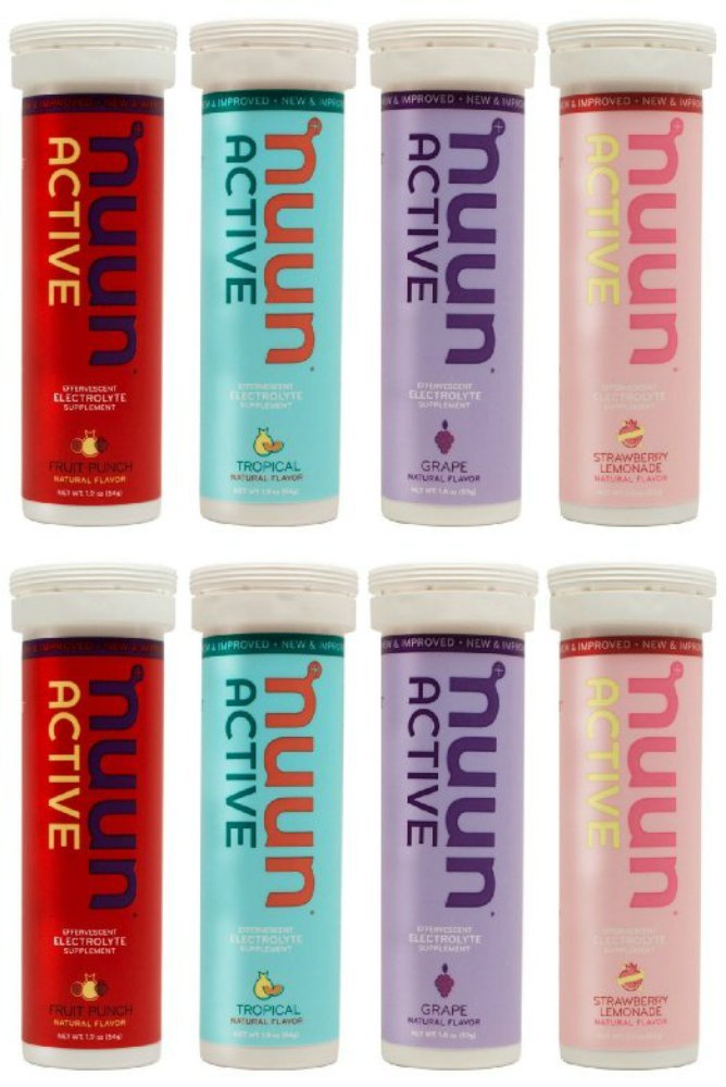 New Nuun Active Hydrating Electrolyte Tablets, Juicebox Mix, 8 Count