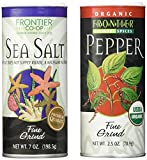 Frontier Salt And Pepper Combo Spice, 2.5 Ounces