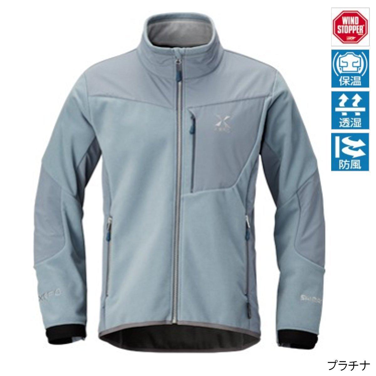 シマノ XEFOWIND STOPPER OPTIMAL Jacket JA-290Q B075L5HCY7 XXL|プラチナ プラチナ XXL
