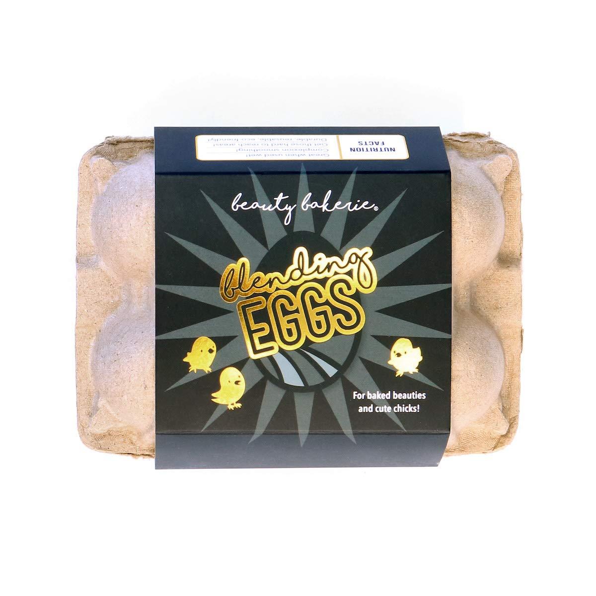 Beauty Bakerie - Black Egg-cellence Beauty Sponges. Makeup Blending Eggs. (6 Sponges)