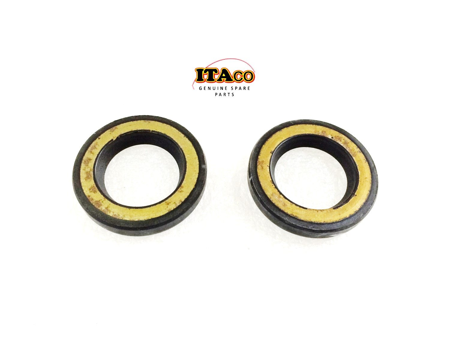 2X OIL SEAL SEALS S-TYPE 93101-23070 23x37x6 fit Yamaha Outboard F 25HP - 70HP 40HP 30HP ITACO