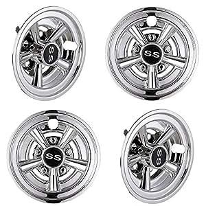 Amazon.com: AW 4 piezas de 8 pulgadas cubierta de rueda de ...