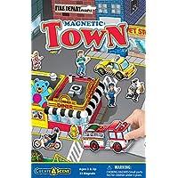 Juego de juego magnético Create-A-Scene - Town