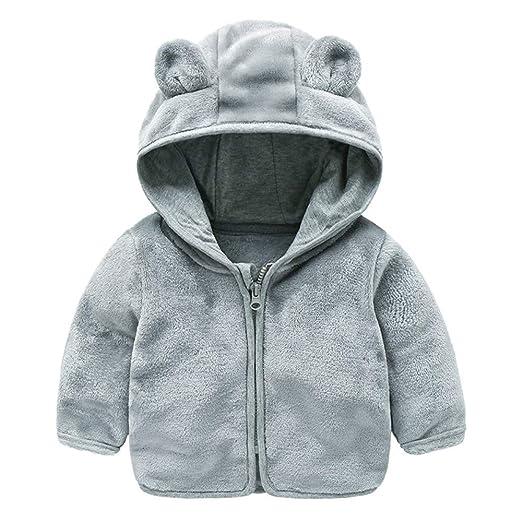 12a331653 Amazon.com  Jchen(TM) Baby Infant Girls Boys Autumn Winter Cute Ear ...