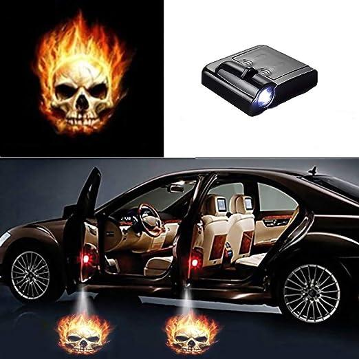 Parkomm Auto proyector, 1 Pieza Wireless Universal Auto Puerta ...