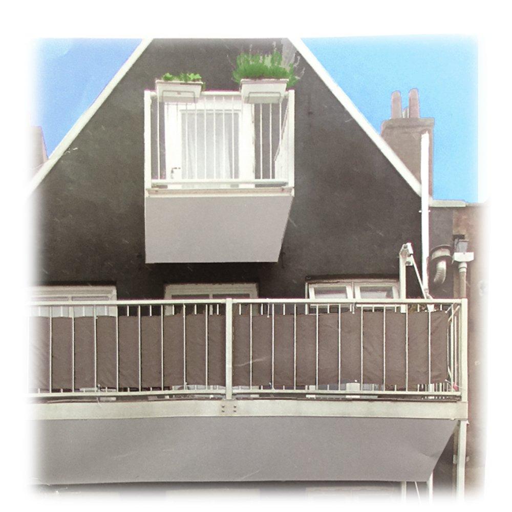 Amazon JEMIDI Balkon Sichtschutz Windschutz Balkonsichtschutz