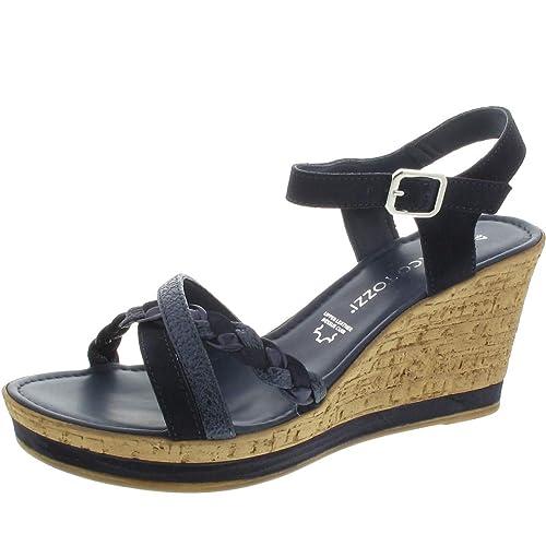 Shop für echte neue Produkte für gehobene Qualität MARCO TOZZI Sandalette blau