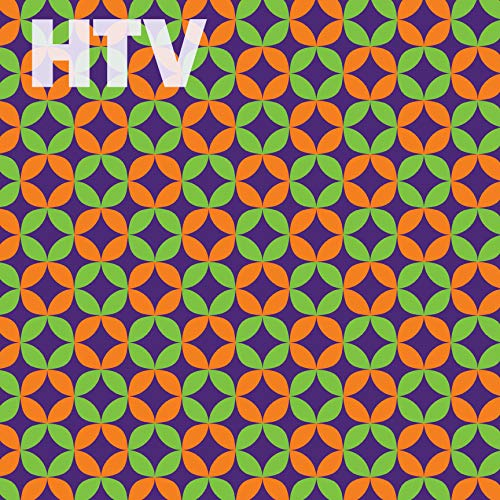 Halloween Geometric Pattern HTV, 12