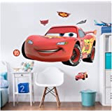 Walltastic Disney Cars Large Character Wall Sticker Set, Multi-Colour
